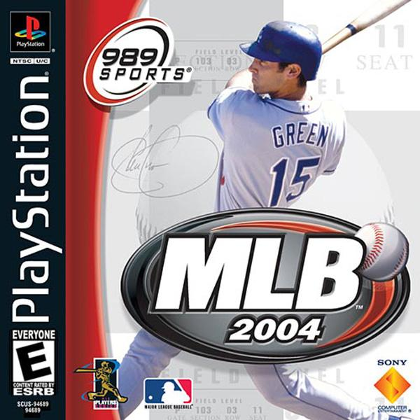 MLB 2004 [U] [SCUS-94689] front cover