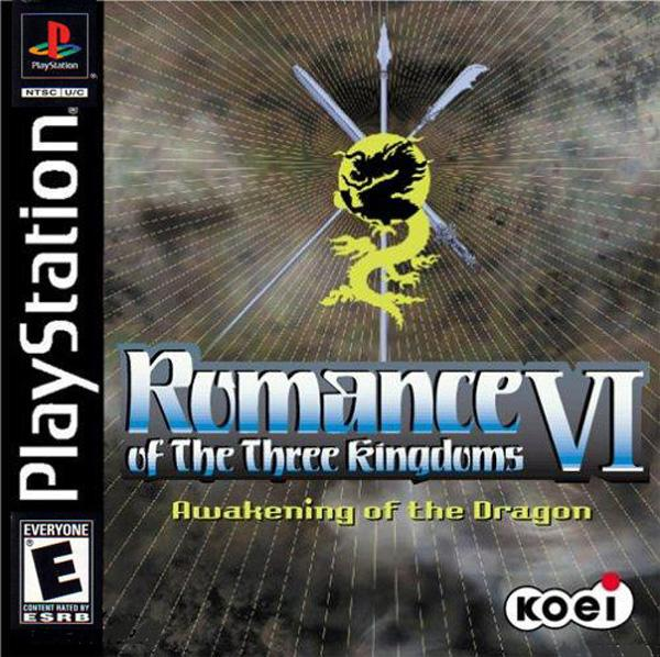 Romance of the Three Kingdoms VI - Awakening of the Dragon [U] [SLUS-00918] front cover