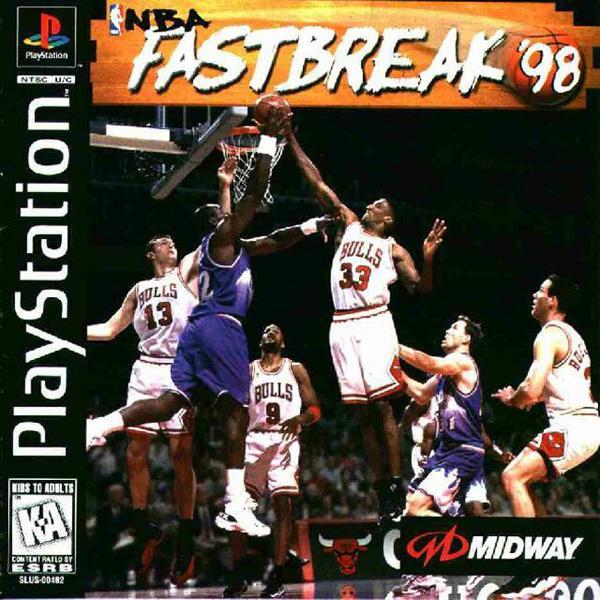 NBA Fastbreak '98 [U] [SLUS-00492] front cover