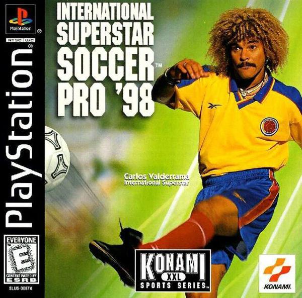 ISS Soccer Pro '98 [U] [SLUS-00674] front cover