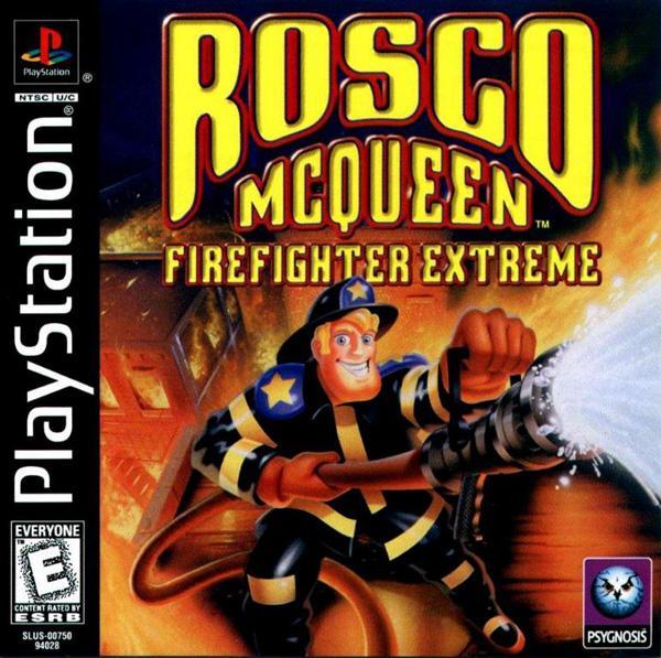 Rosco McQueen Firefighter Extreme [U] [SLUS-00750] front cover