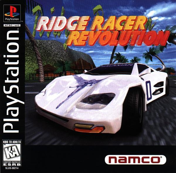 Ridge Racer Revolution [U] [SLUS-00214] front cover