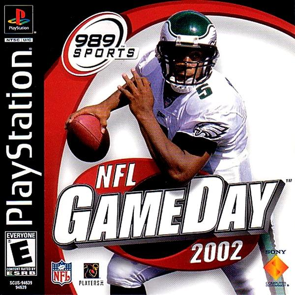NFL Gameday 2002 [U] [SCUS-94639] front cover