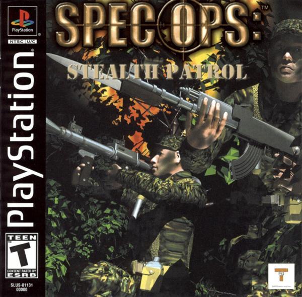Spec Ops - Stealth Patrol [U] [SLUS-01131] front cover