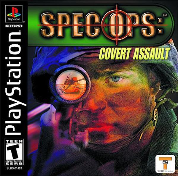 Spec Ops - Covert Assault [U] [SLUS-01420] front cover