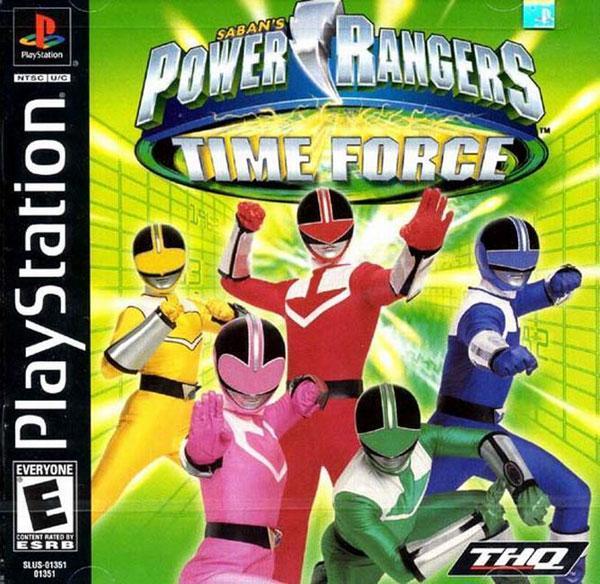 Power Rangers - Time Force [U] [SLUS-01351] front cover