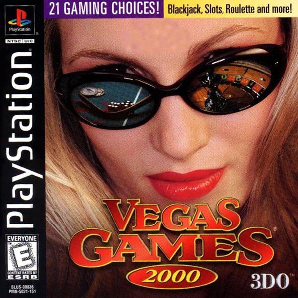 Vegas Games 2000 [U] [SLUS-00836] front cover
