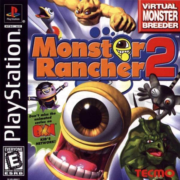 Monster Rancher 2 [U] [SLUS-00917] front cover