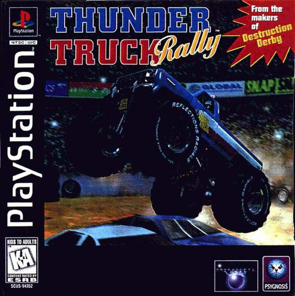 Thunder Truck Rally [U] [SCUS-94352] front cover