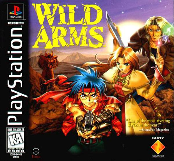 Wild Arms [U] [SCUS-94608] front cover