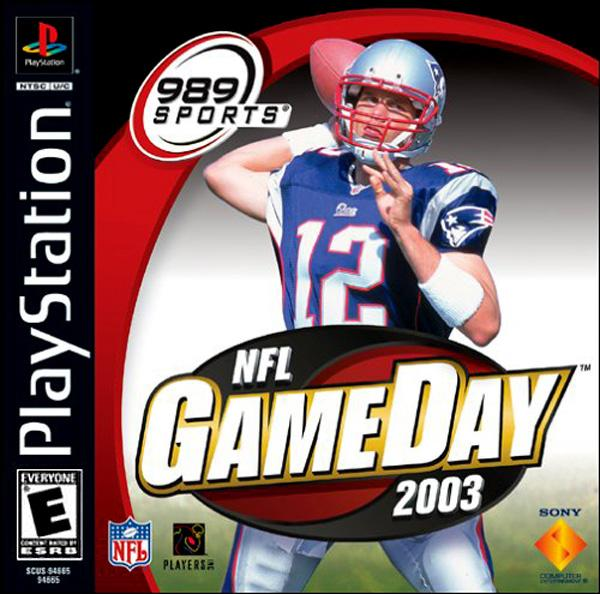 NFL Gameday 2003 [U] [SCUS-94665] front cover