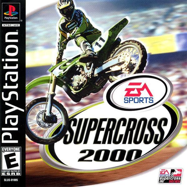SuperCross 2000 [U] [SLUS-01005] front cover