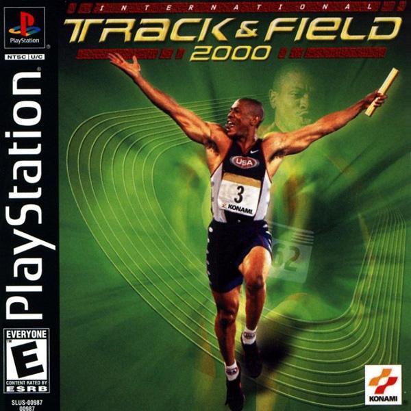 International Track & Field 2000 [U] [SLUS-00987] front cover
