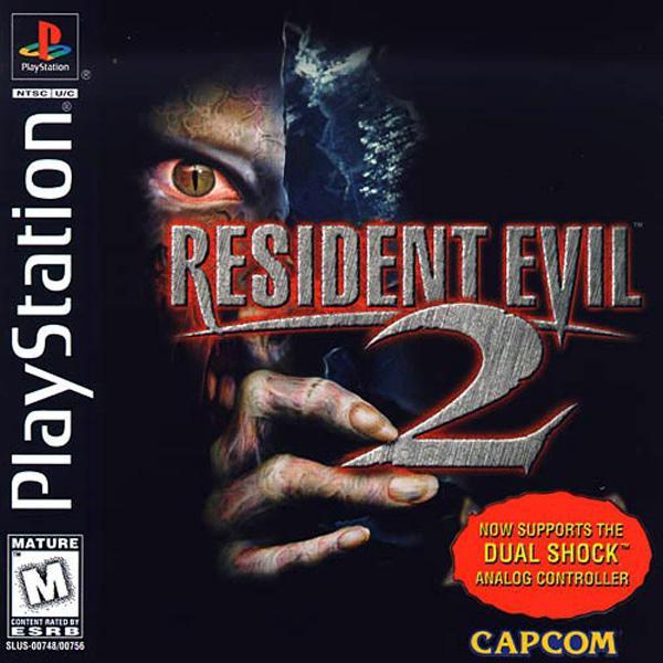 Resident Evil 2 - Dual Shock [Claire Disc] [U] [SLUS-00756] front cover
