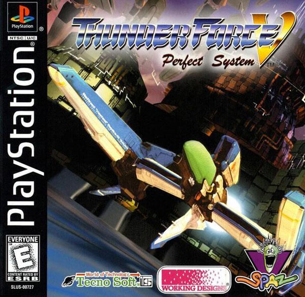 Thunder Force V - Perfect System [U] [SLUS-00727] front cover