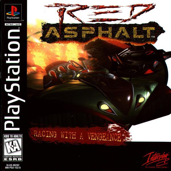 Red Asphalt - Rock 'n Roll Racing II [U] [SLUS-00282] front cover