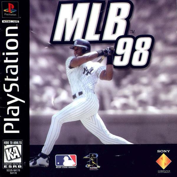 MLB '98 [U] [SCUS-94170] front cover