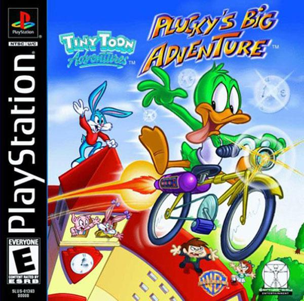 Tiny Toons Adventures - Pluck's Big Adventure [U] [SLUS-01393] front cover