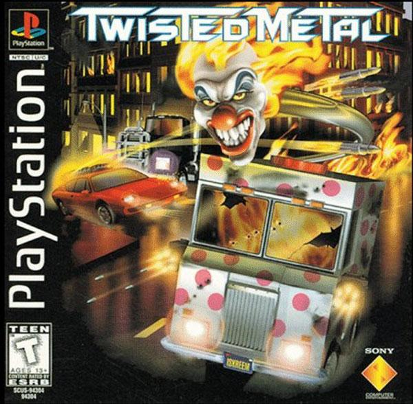 Twisted Metal [U] [SCUS-94304] front cover