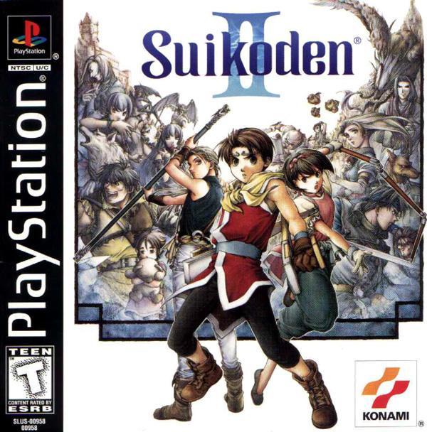 Suikoden II [U] [SLUS-00958] front cover