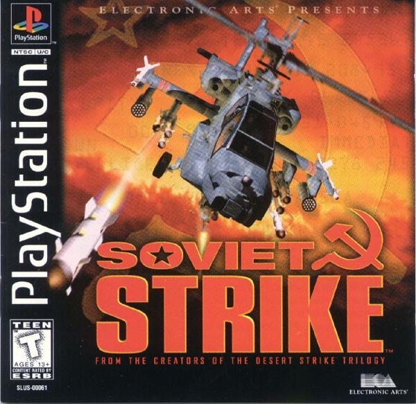 Soviet Strike [U] [SLUS-00061] front cover