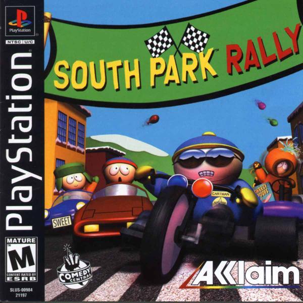 South Park Rally [U] [SLUS-00984] front cover