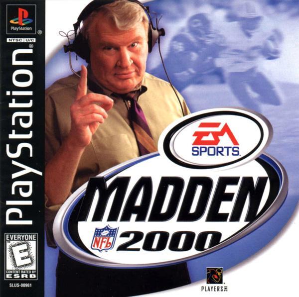 Madden NFL 2000 [U] [SLUS-00961] front cover
