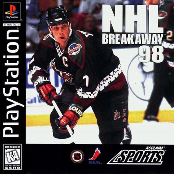 NHL Breakaway '98 [U] [SLUS-00391] front cover