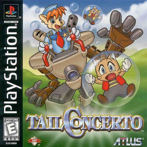 Tail Concerto [U] [SLUS-00660] front cover