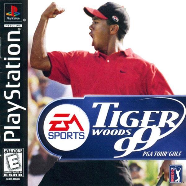 Tiger Woods PGA Tour Golf '99 [U] [SLUS-00785] front cover