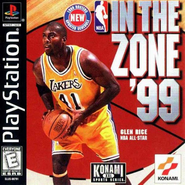 NBA In the Zone '99 [U] [SLUS-00791] front cover