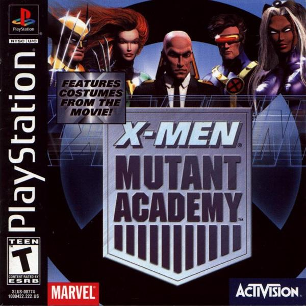 X-Men - Mutant Academy [U] [SLUS-00774] front cover