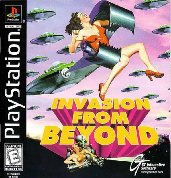 Invasion From Beyond - B-Movie [U] [SLUS-00709] front cover