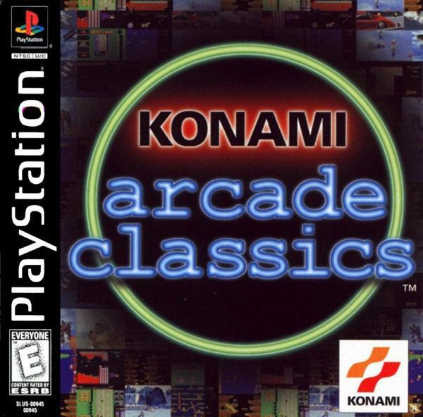 Konami Arcade Classics [U] [SLUS-00945] front cover