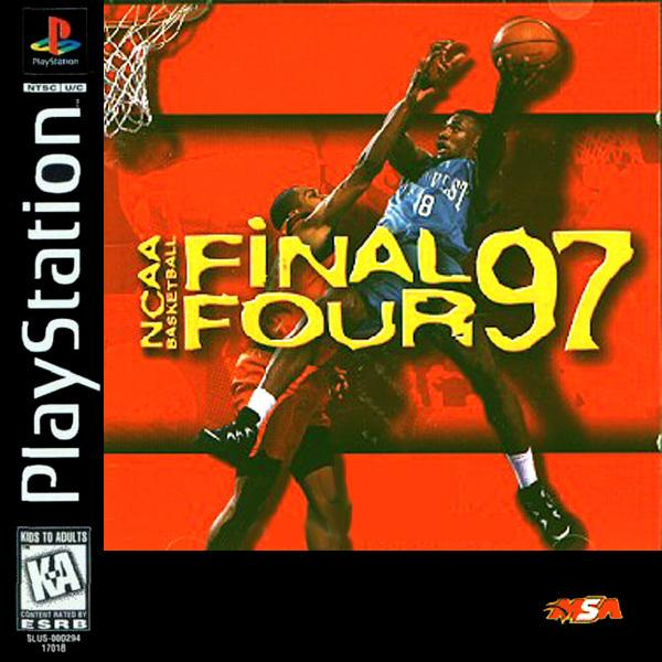 NCAA Basketball Final Four '97 [U] [SLUS-00142] front cover