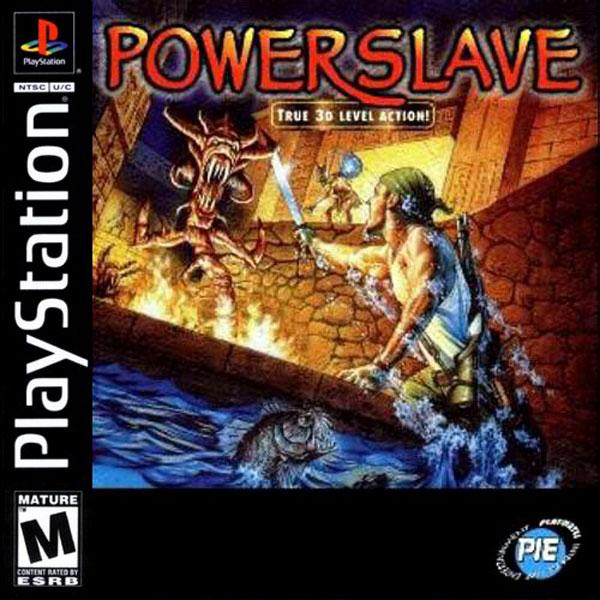 Powerslave [U] [SLUS-00102] front cover