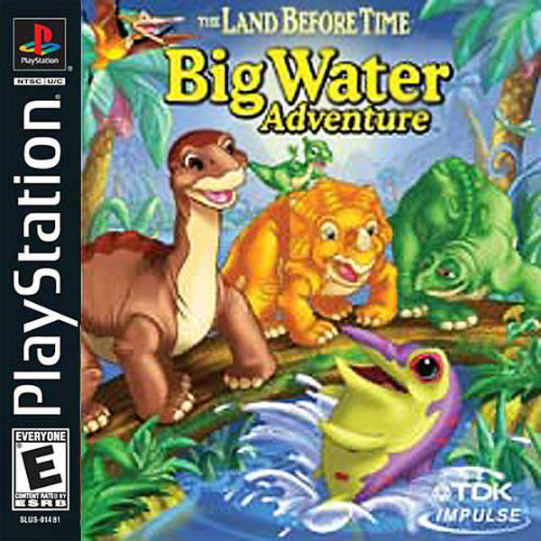 Land Before Time - Big Water Adventure [U] [SLUS-01481] front cover