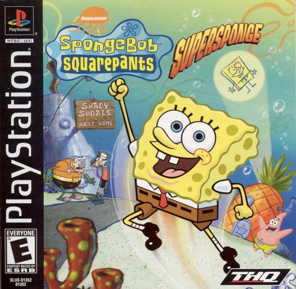 Spongebob Squarepants - Supersponge [U] [SLUS-01352] front cover
