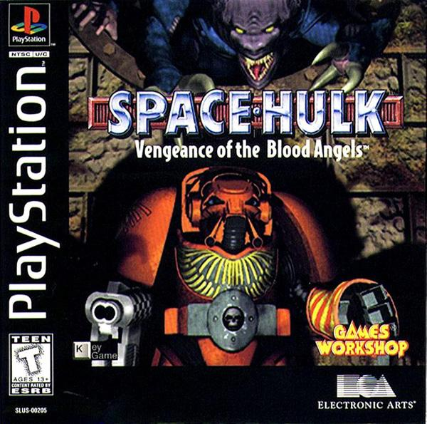 Space Hulk - Vengeance of the Blood Angels [U] [SLUS-00205] front cover