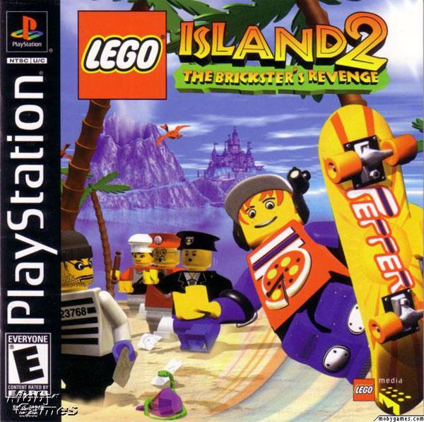 Lego Island 2 - The Brickster's Revenge [U] [SLUS-01246] front cover