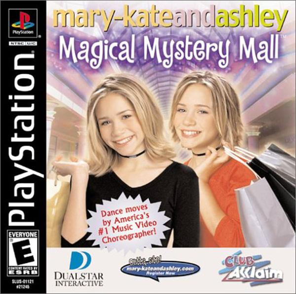 Mary-Kate & Ashley - Magical Mystery Mall [U] [SLUS-01121] front cover