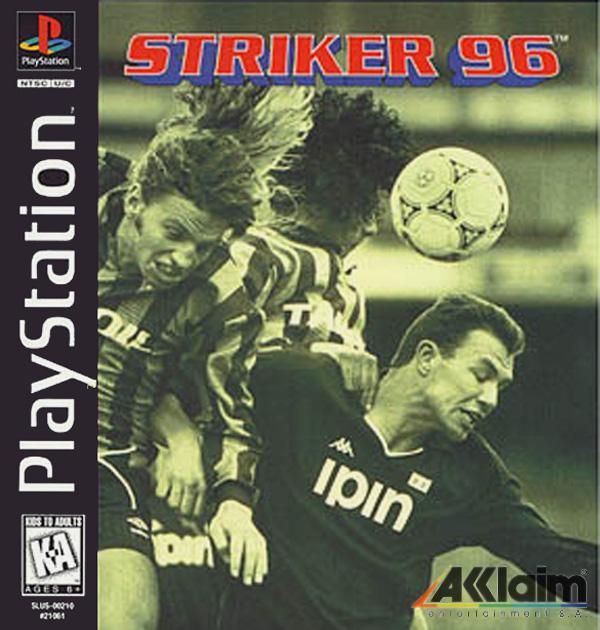 Striker [U] [SLUS-00210] front cover