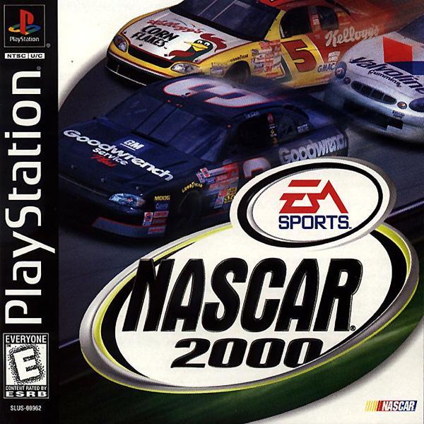 NASCAR 2000 [U] [SLUS-00962] front cover