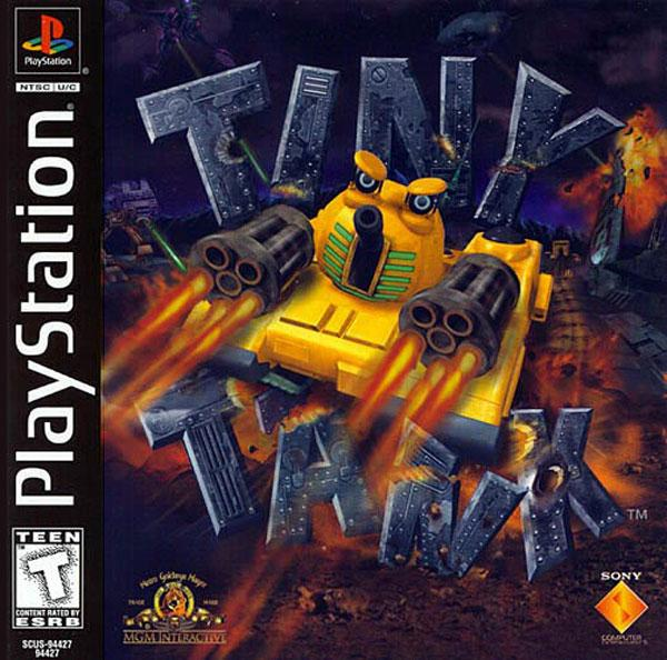 Tiny Tank [U] [SCUS-94427] front cover