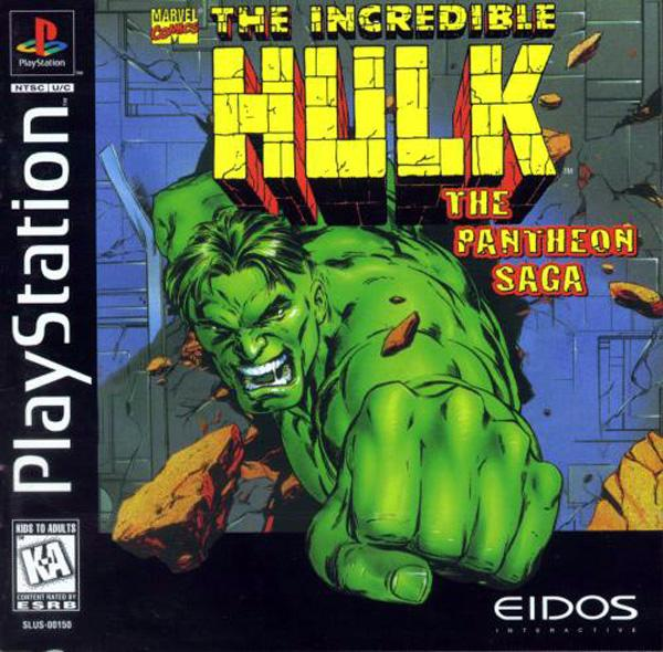 Incredible Hulk - The Pantheon Saga [U] [SLUS-00150] front cover