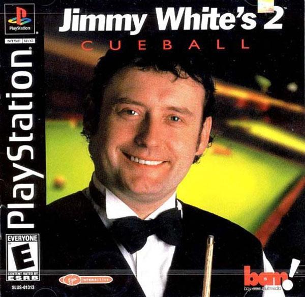 Jimmy White's Cueball 2 [U] [SLUS-01313] front cover