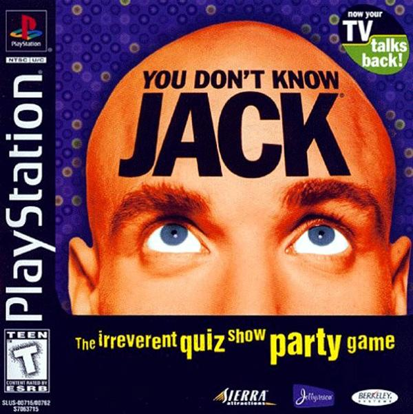 You Don't Know Jack [Disc1of2] [U] [SLUS-00716] front cover
