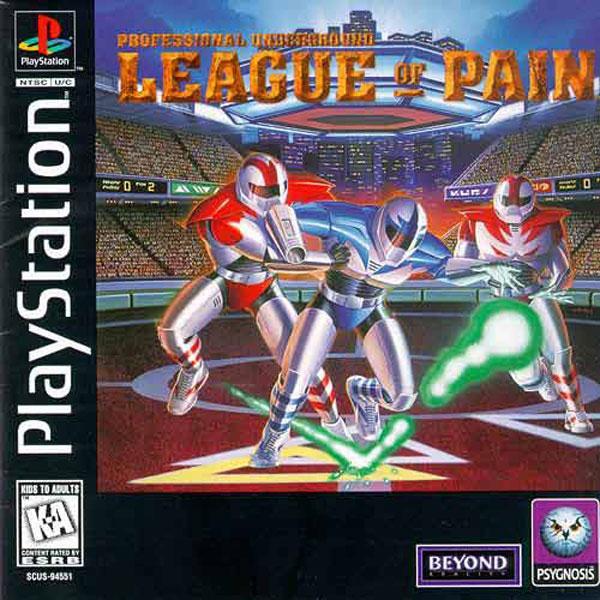 League of Pain - Professional Underground [U] [SCUS-94551] front cover