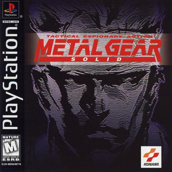 Metal Gear Solid [Disc1of2] [U] [SLUS-00594] front cover