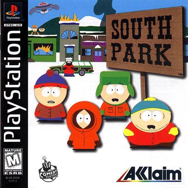 South Park [U] [SLUS-00936] front cover
